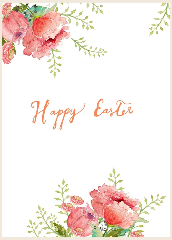 picture relating to Watercolor Printable referred to as Cost-free Watercolor Easter Printable