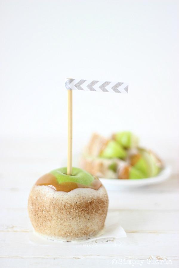 Delicious Summer Recipes : Chai Sugared Caramel Apples