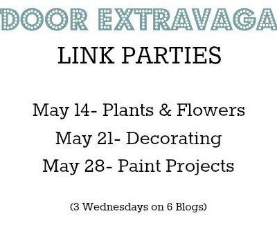 Outdoor decorating linky party