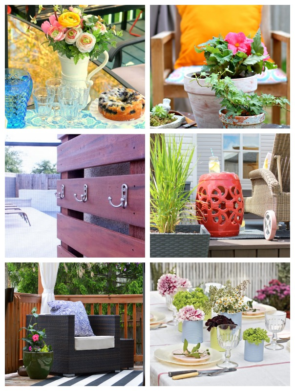 Outdoor Decorating Projects for the Outdoor Extravaganza