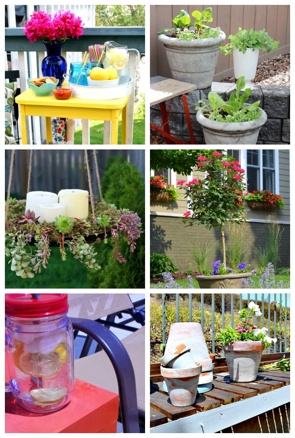 Outdoor Extravaganza Linky party – Paint projects