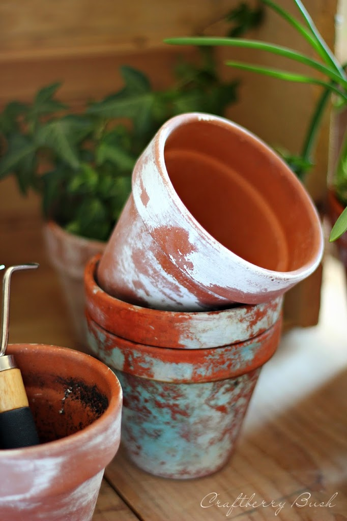 How to age terracotta pots three methods for Terracotta works pots