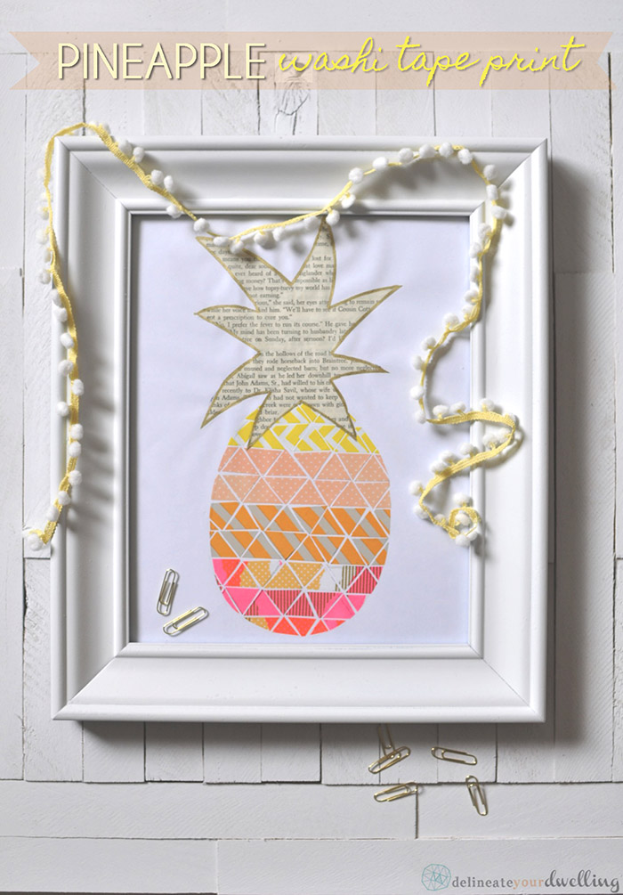 1 Pineapple Print   Delineate Your Dwelling
