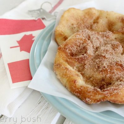 So Canadian…fried dough pastry