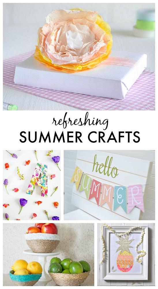 Refreshing Summer Crafts