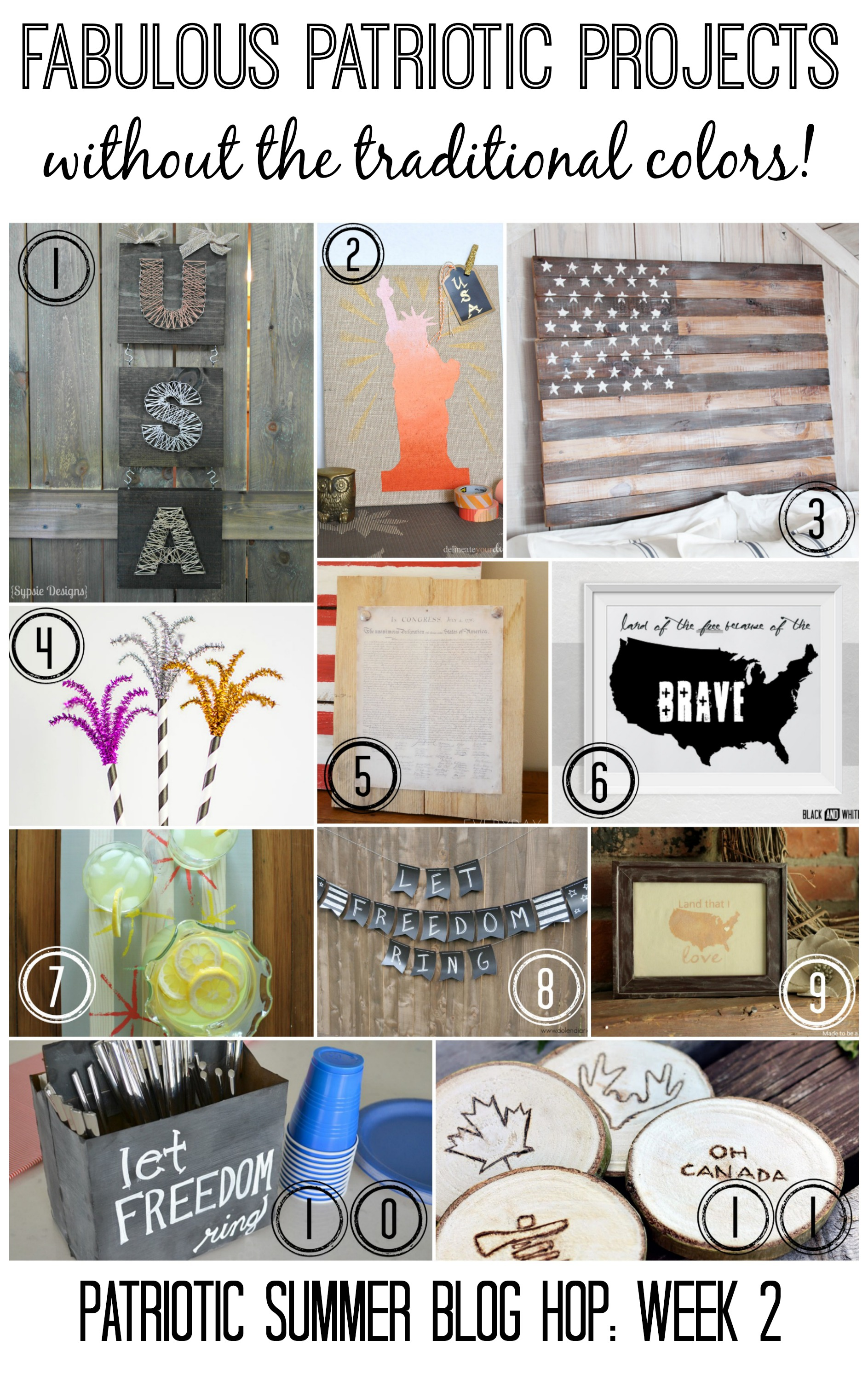 Patriotic SBH Week 2 Collage