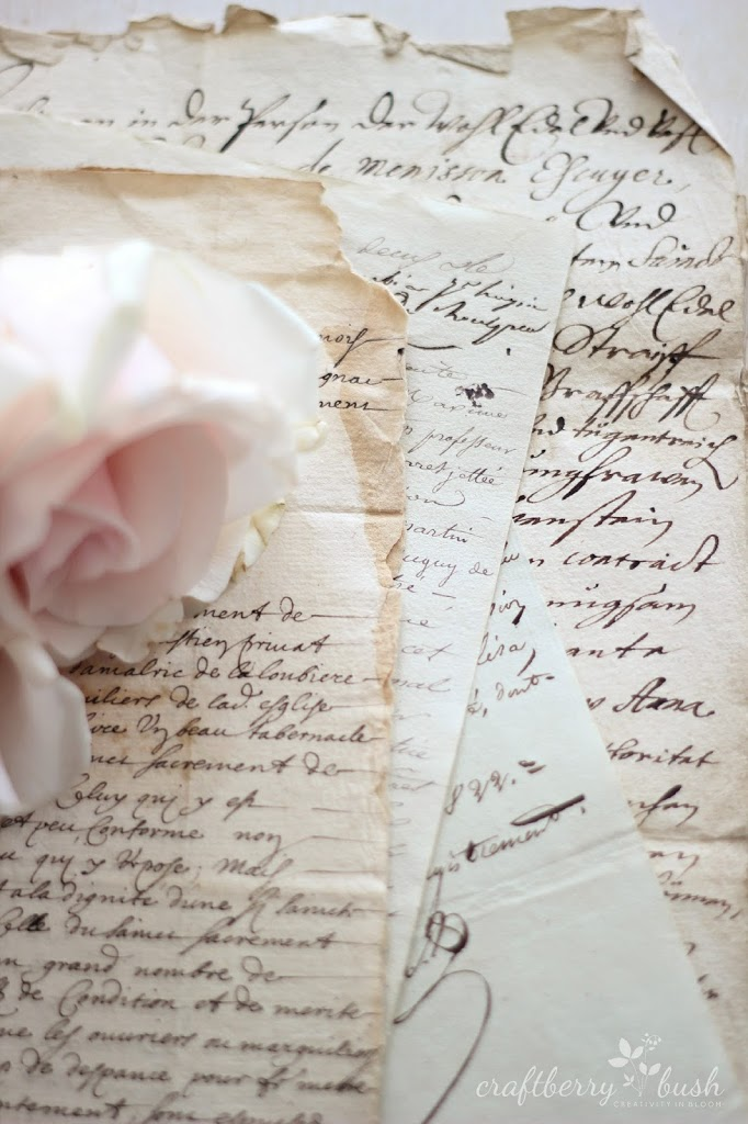 Antique French Script