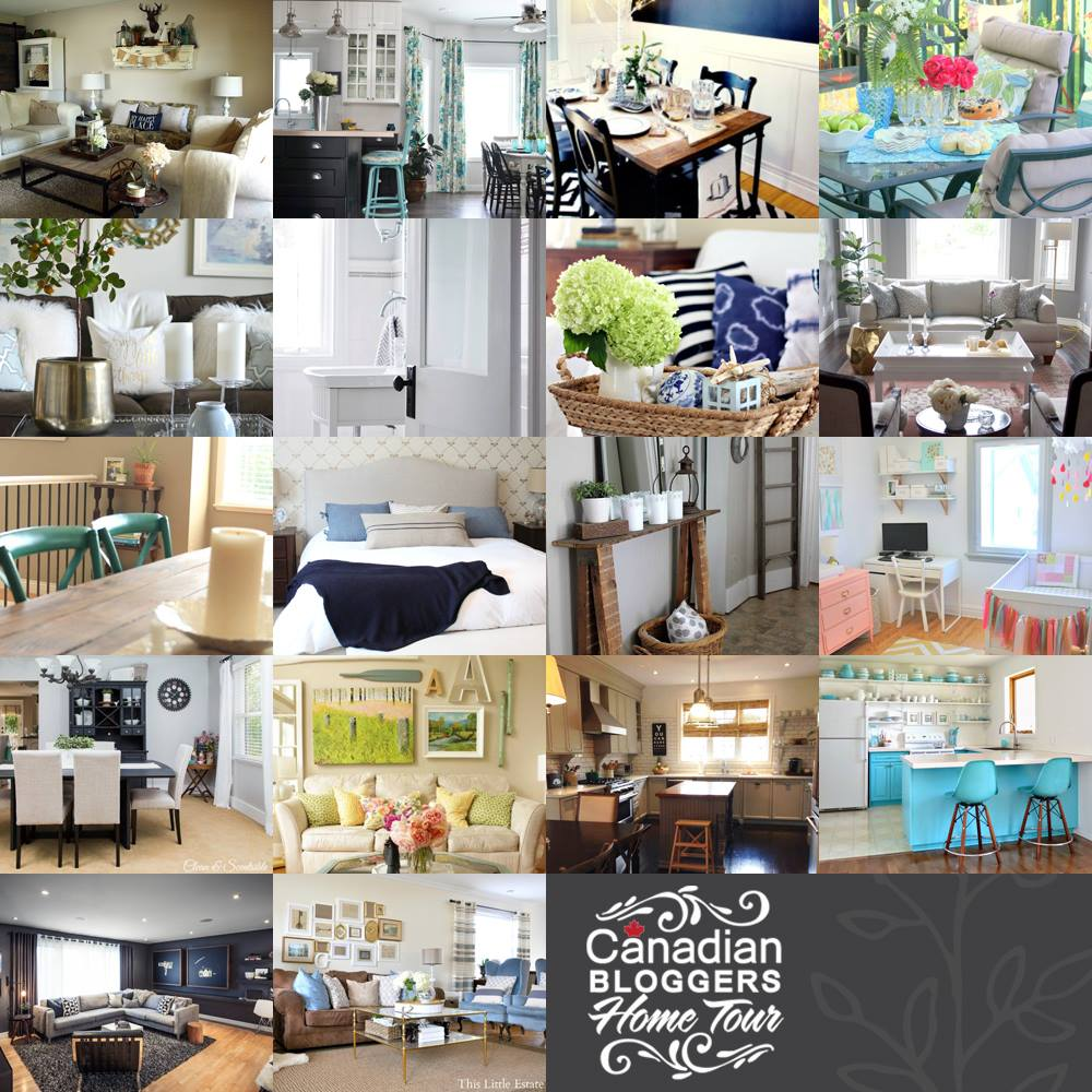 Canadian Bloggers Home Tour 2014
