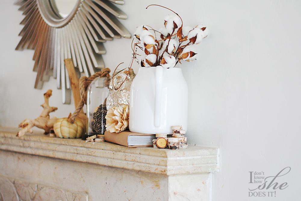 DIY autumn sign