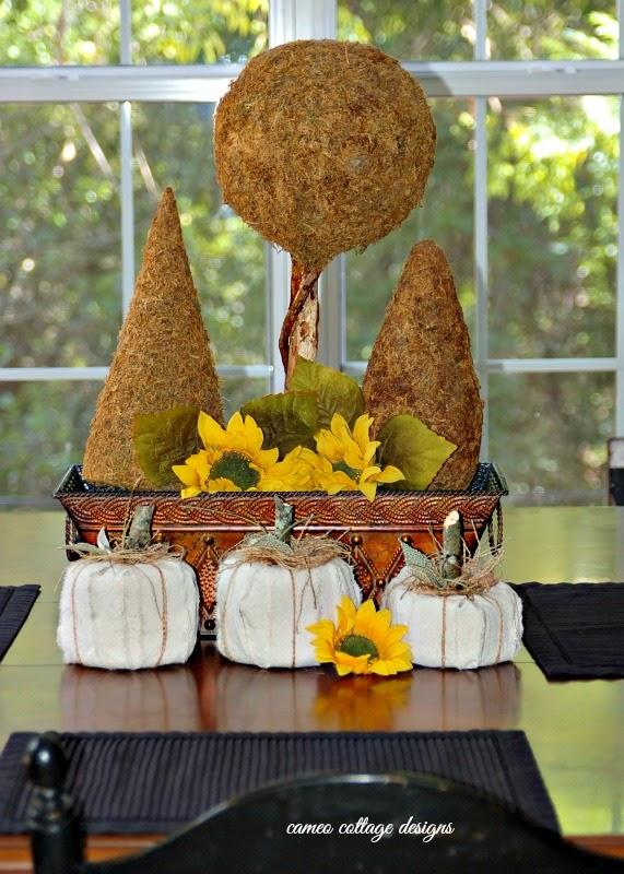 Rustic Fall Dropcloth Pumpkins _ cameo cottage designs _ 012