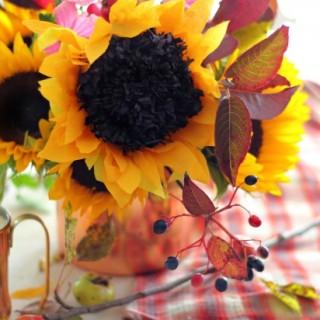 crepesunflowertutorialcloseupcraftberrybushforehow4