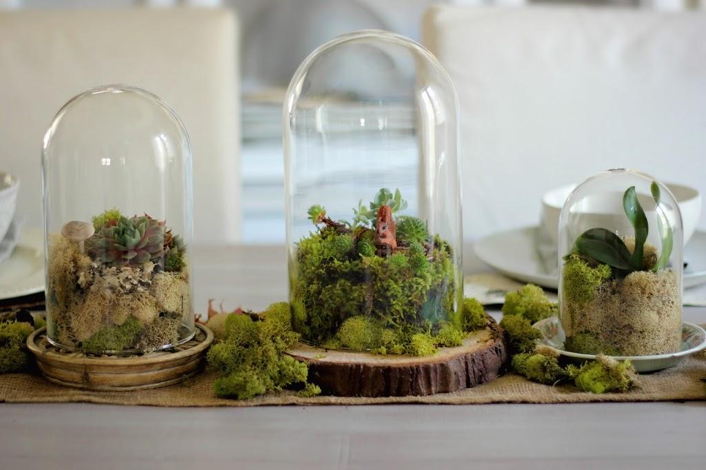 Fall terrarium centrepiece DIY
