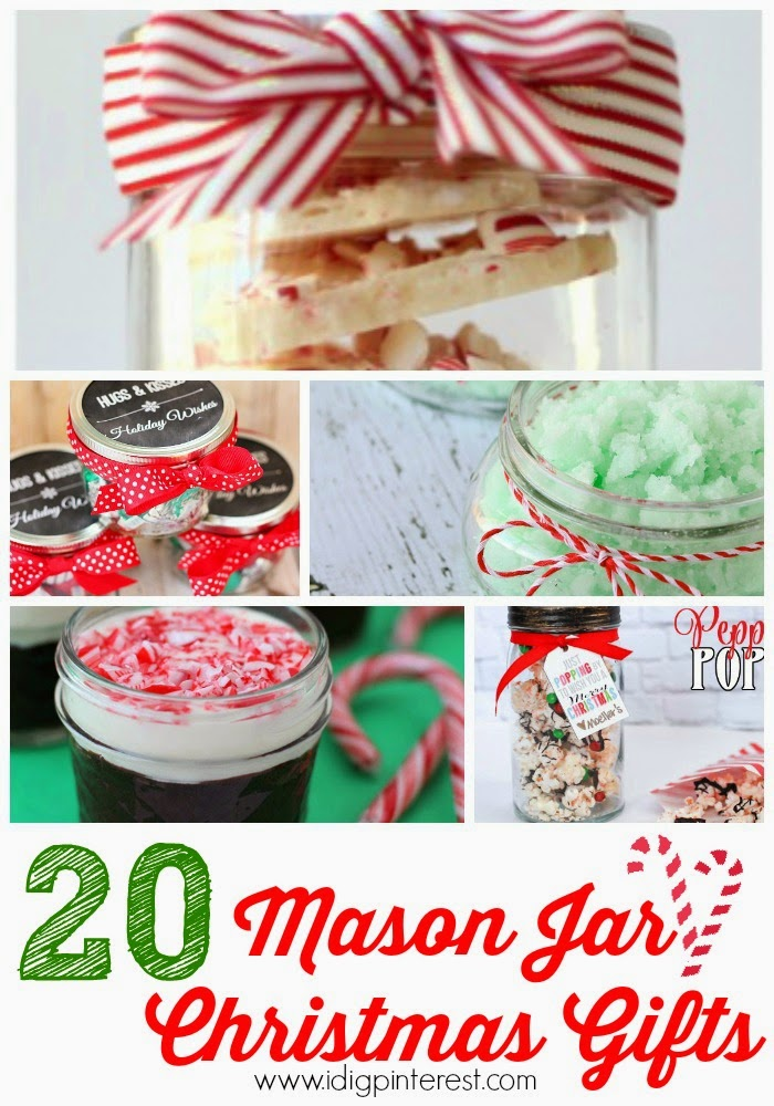 The Best Mason Jar Gifts Collage