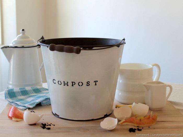 DIY Faux Enamel Ware Compost Bin - homework ~ carolynshomework (10)[15]
