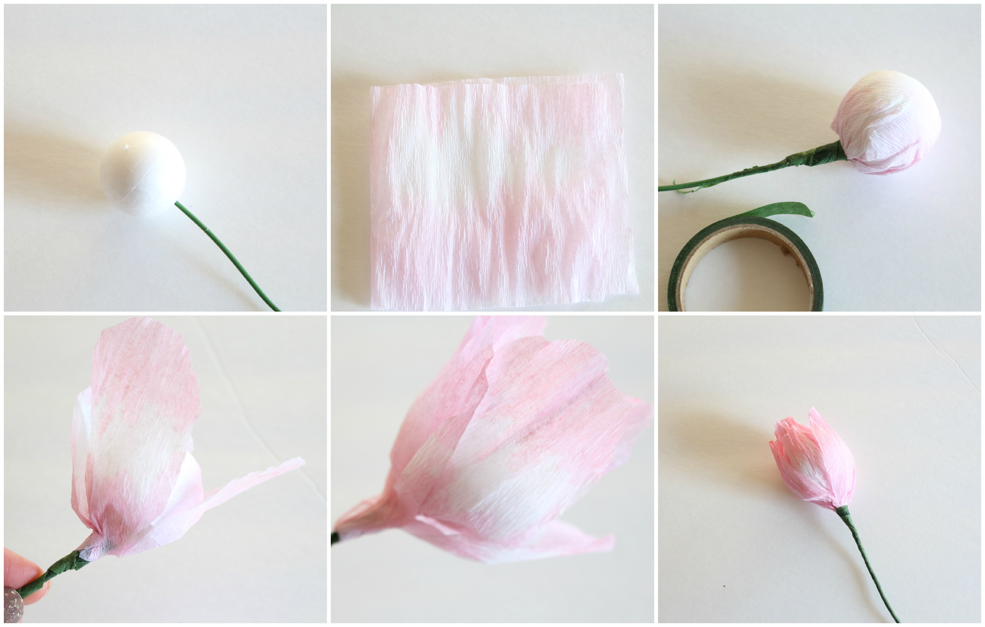 How To Make Crepe Paper Flower Balls Comousar