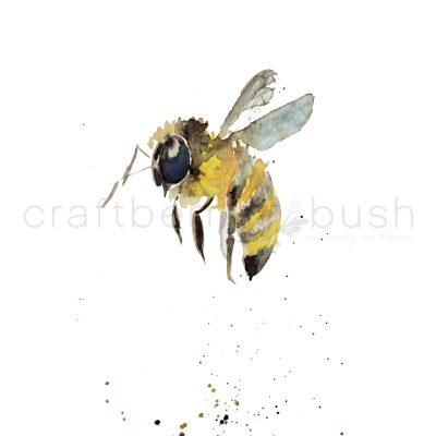 Watercolor Bee Printable and an Announcement