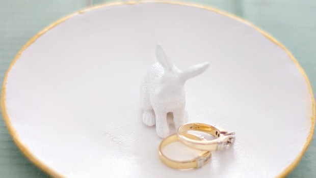 Ceramic Bunny Ring Tray DIY