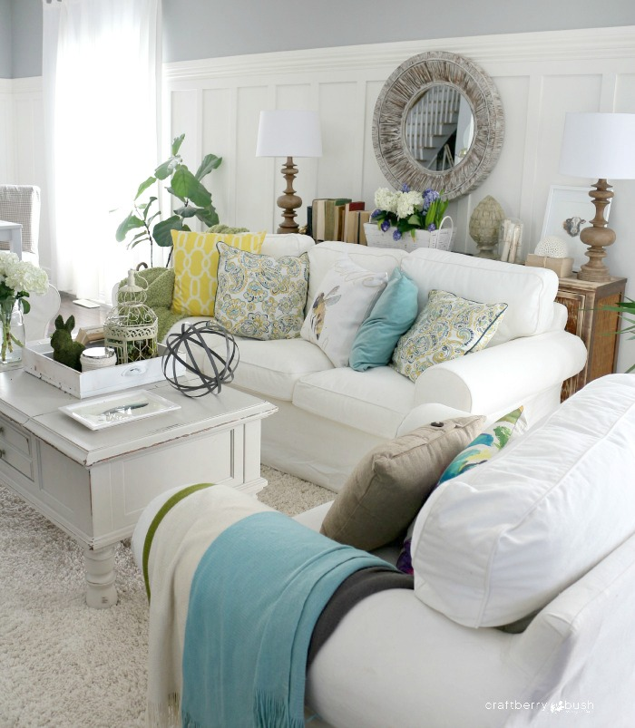 Spring Living Room Decorating Ideas: Spring Decor Ideas