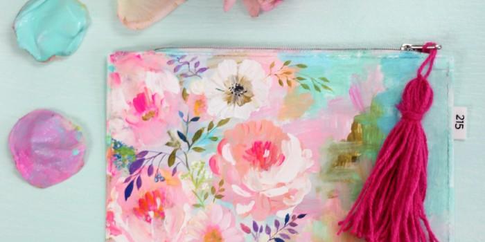 Acrylic Rose Garden