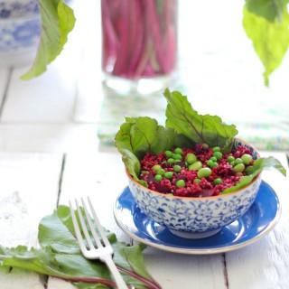Quinoabeetsaladcraftberrybush