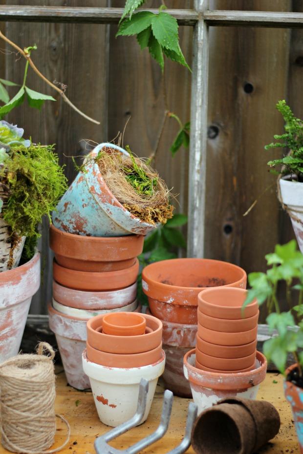 gardeningbenchcraftberrybushpots