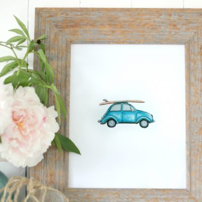 Free Printable – Summer Time VW Buggy