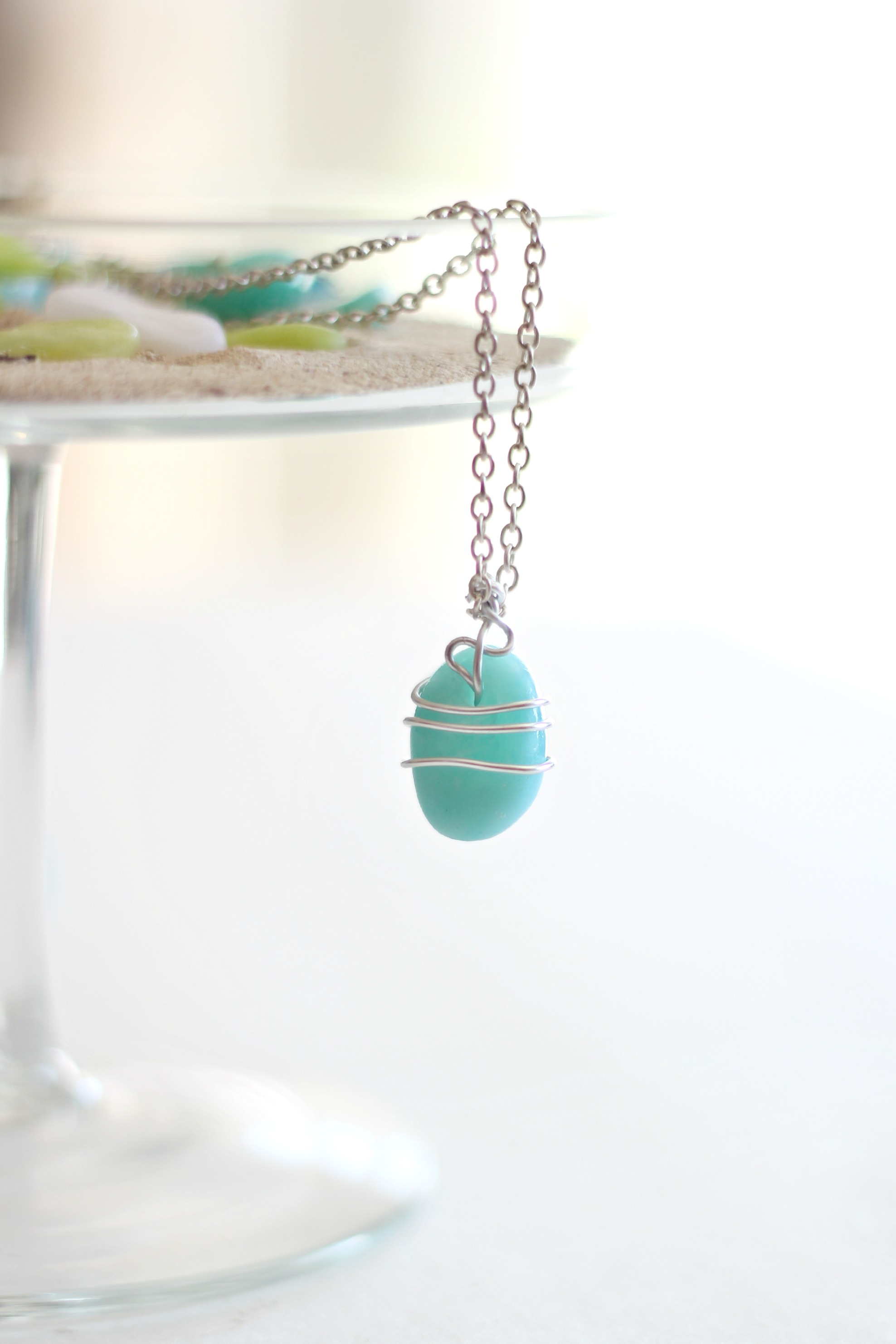 How to make faux sea glass with Polymer Clay