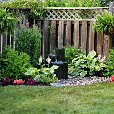 Easy to Install Garden Fountain