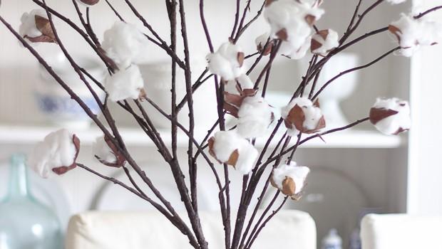 Cotton Branch DIY