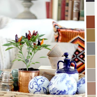 Finding inspiration for seasonal color palettes