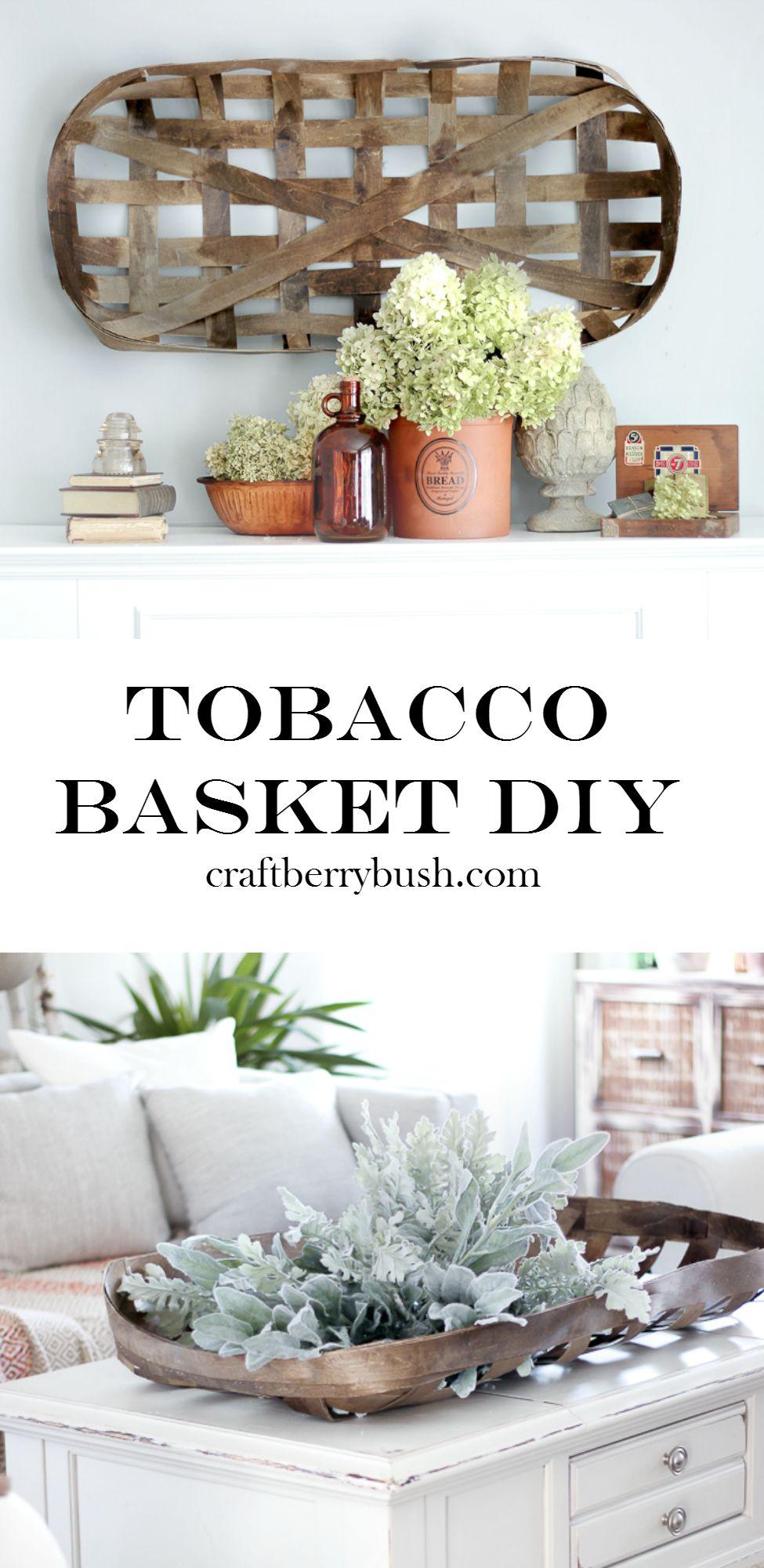 tobaccobasketdoityourselfcraftberrybush