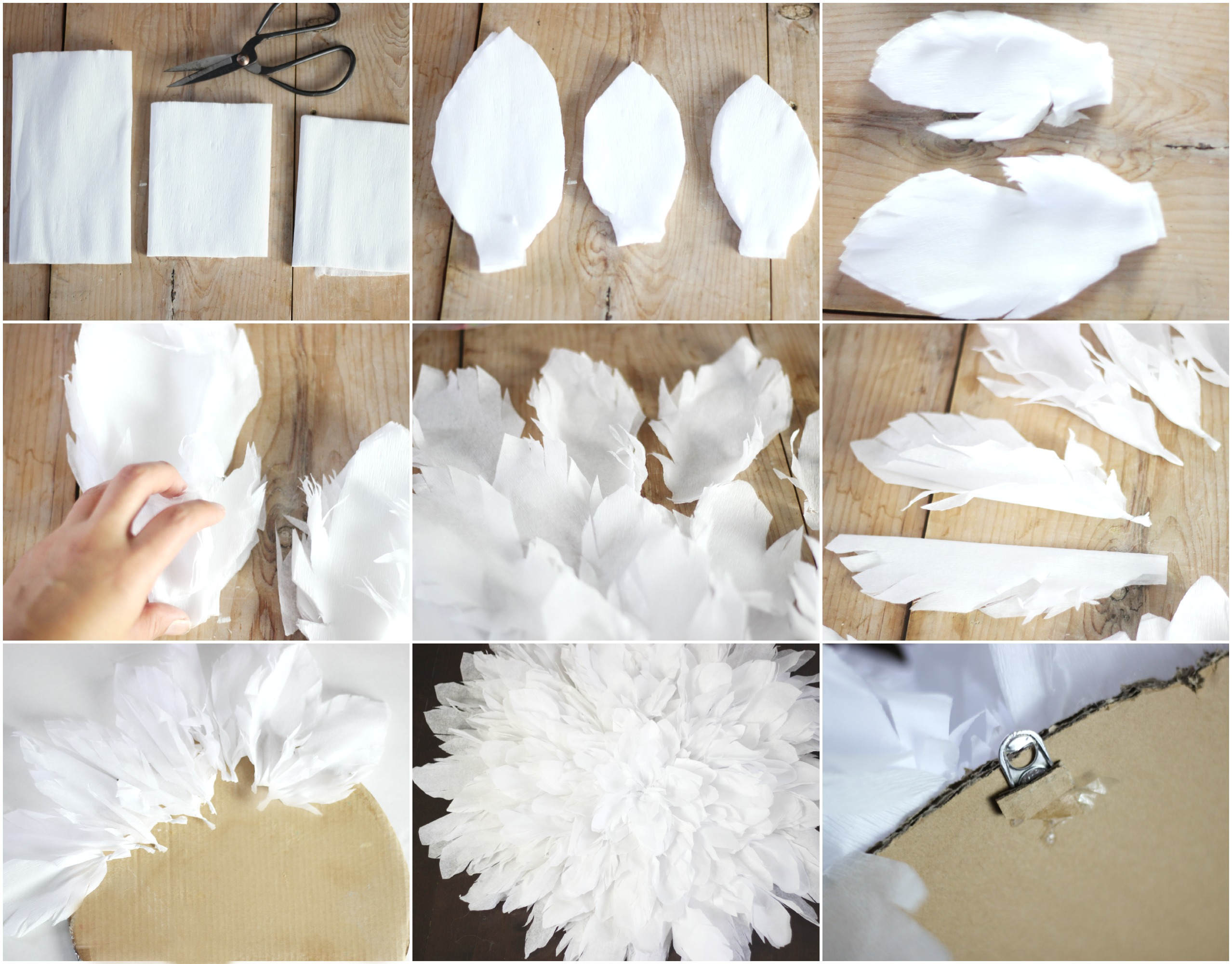 New Bedding And Crepe Paper Juju Hat Tutorial