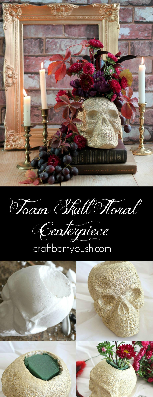 foamskullcenterpiececraftberrybush
