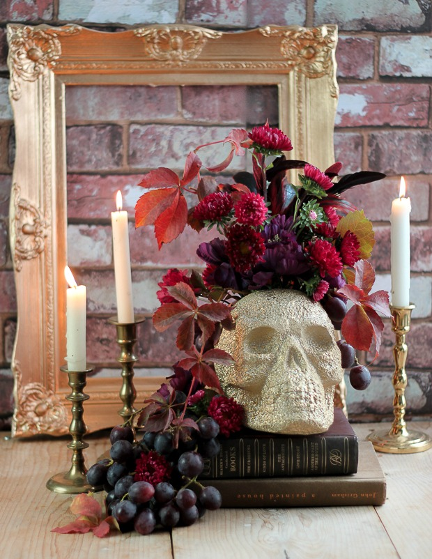 halloweenflowerrrangement_
