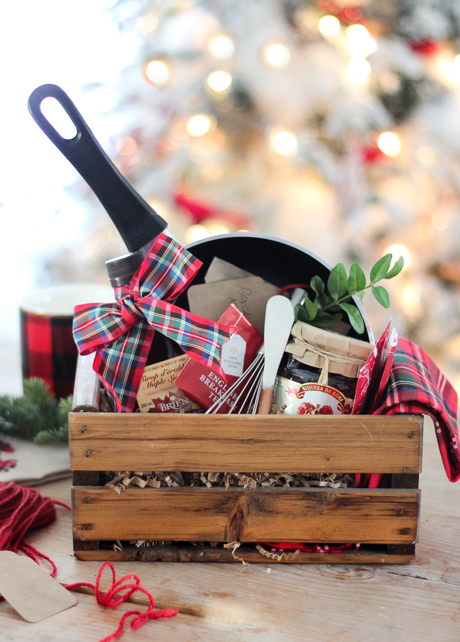 Host Gift Ideas christmas breakfast easy hostess gift