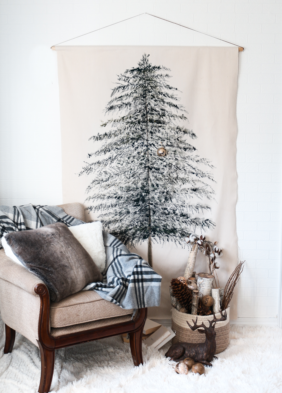 Christmas Tree Tapestry DIY