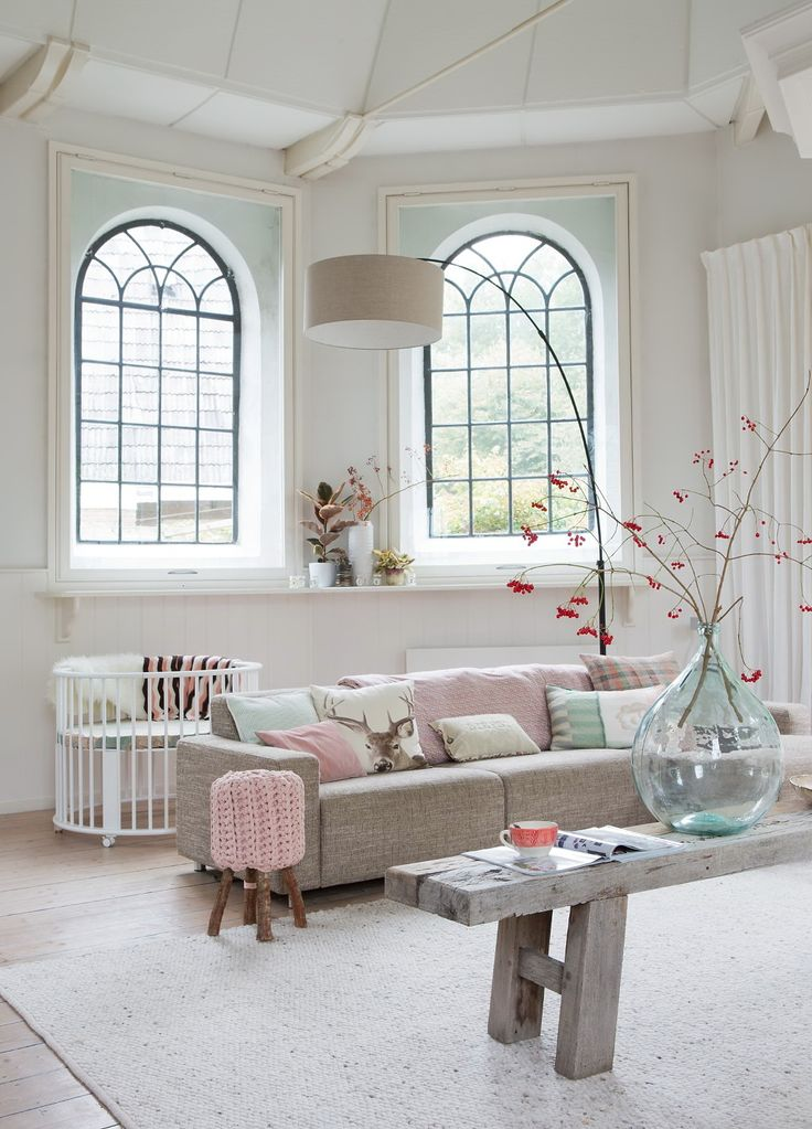 Large-Living-Room-Fabulous-Feminine-Scandinvian-Style-In-A-Remodelled-Church