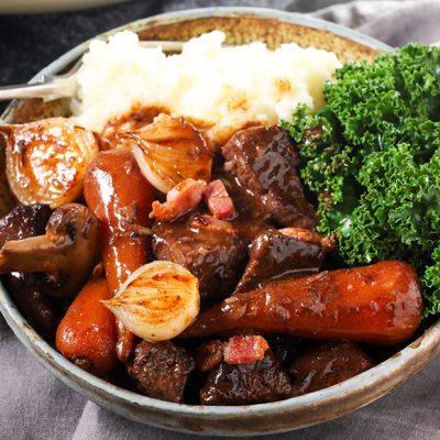 Rich & Comforting Beef Bourguignon