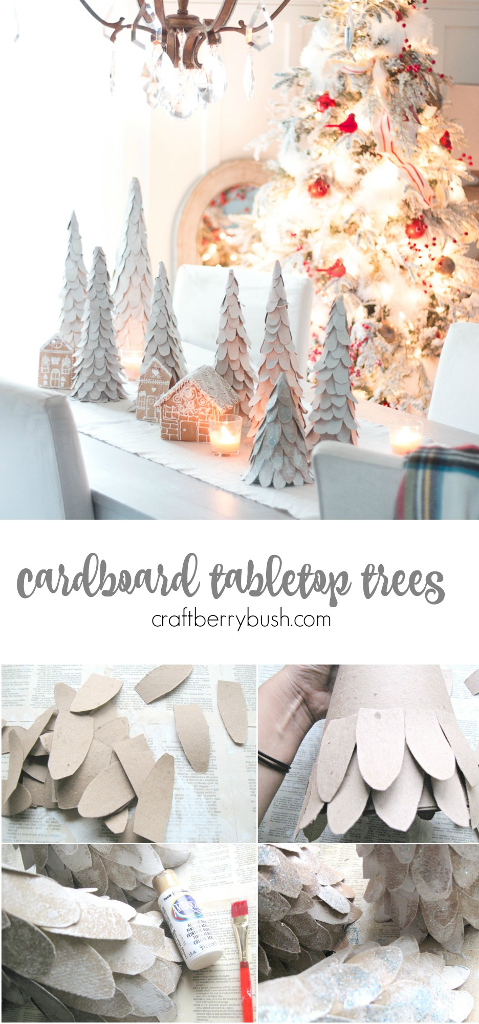 cardboardtabletoptreescraftberrybush