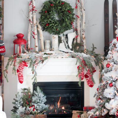 Christmas Mantel 2015