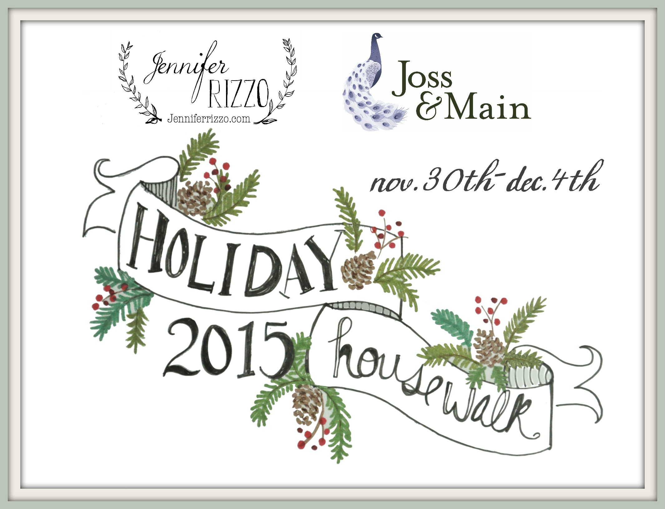 Holiday House Walk 2015