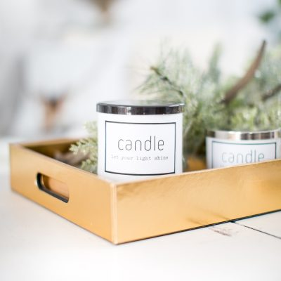 Easy Candle Makeover