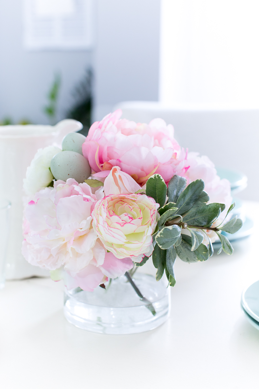 Diy faux water for artificial flowers izmirmasajfo
