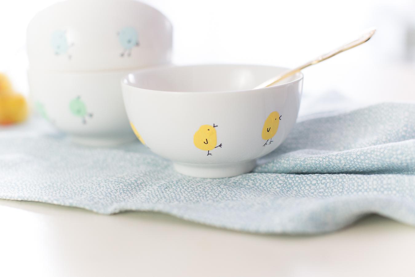 Easter dinnerwear -craftberrybush.com