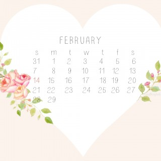 February desktopcalendar 1280x1024