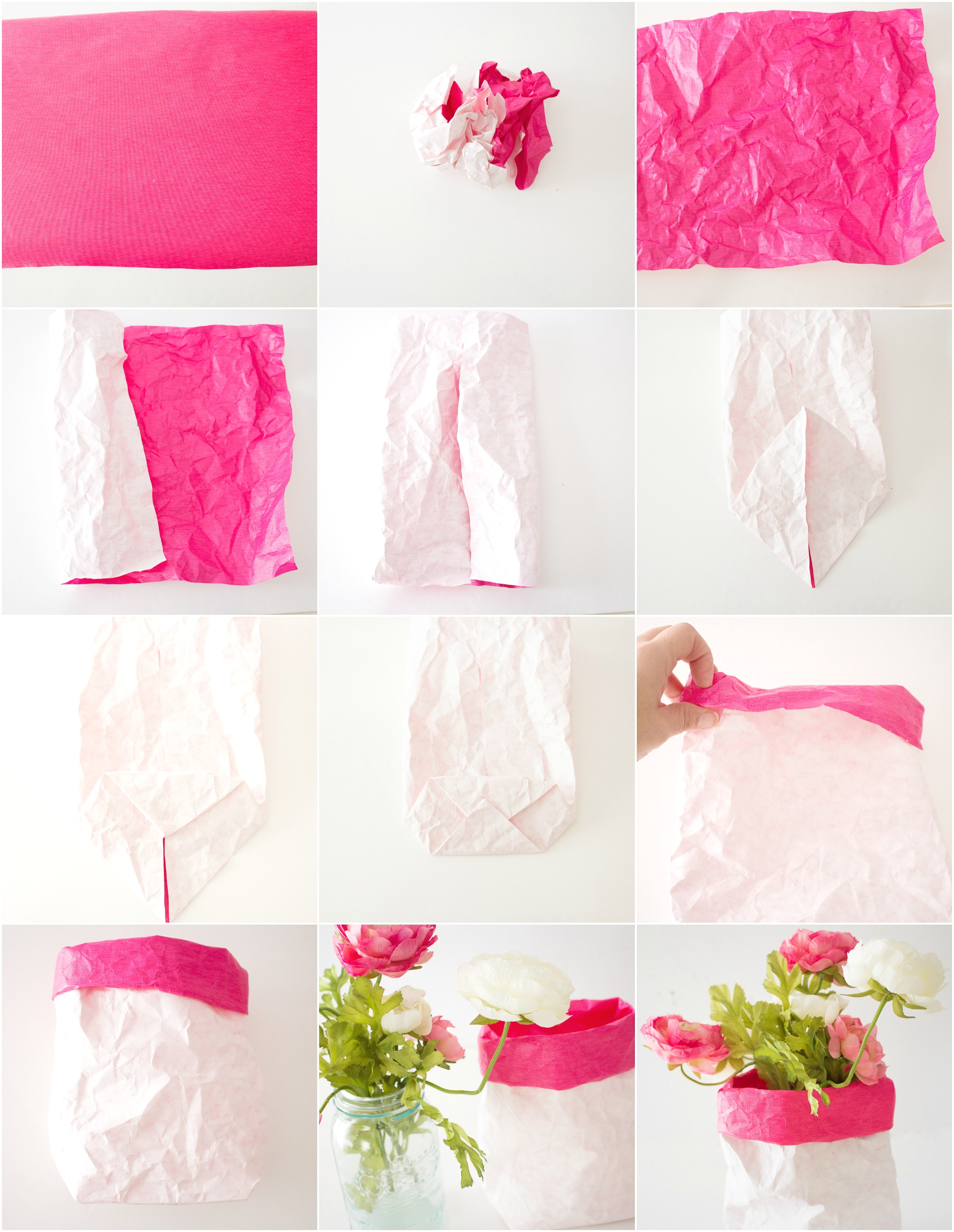 papersackvasetutorialcraftberrybush