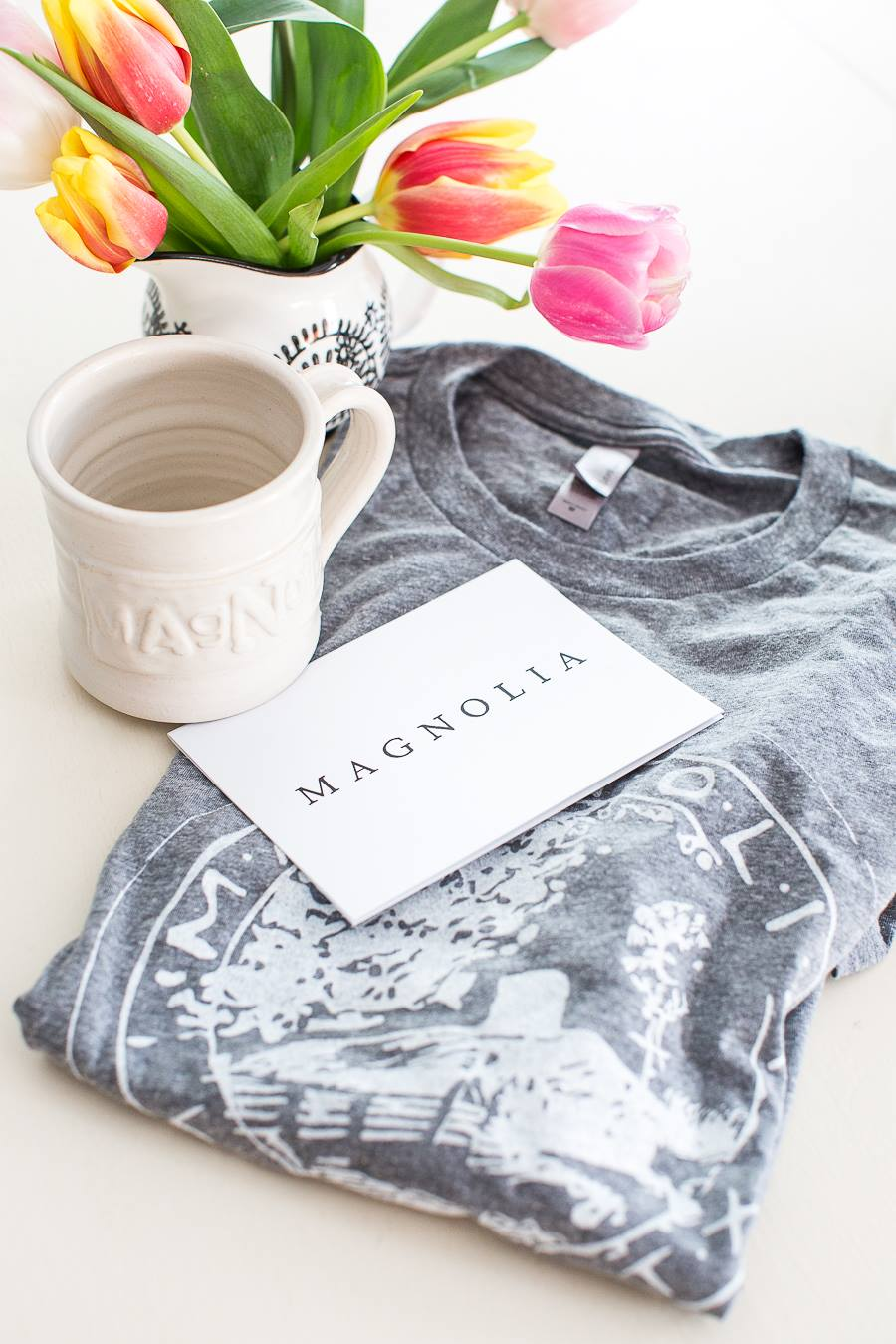 Magnolia Market shirt and mug