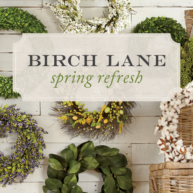 Birch Lane Spring Refresh Campaign Photo
