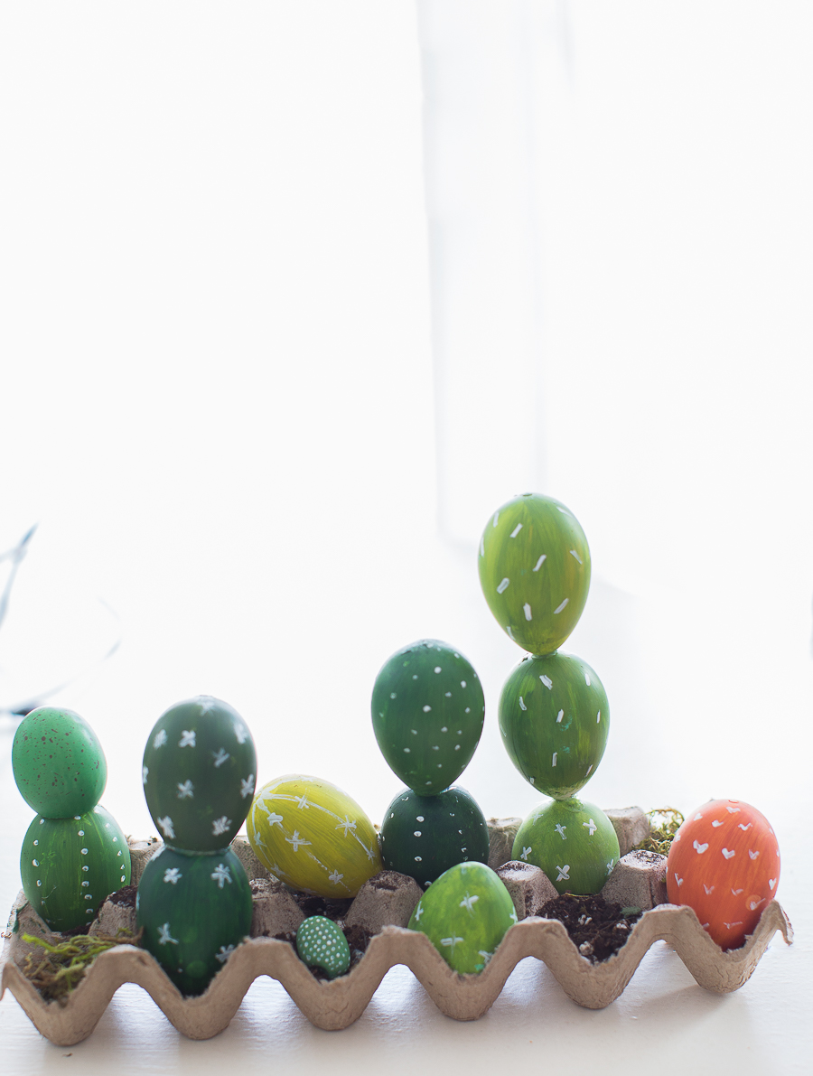 Easter Cacti Eggs
