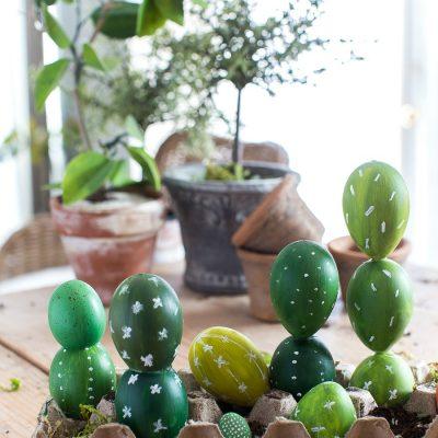 Cactus Easter Egg